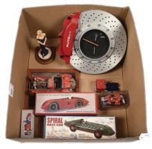 GRP inc Mixed Auto Art Disc Brake style Clock