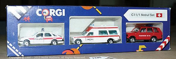 Corgi No.C11/1 Notruf Gift Set - Ford Sierra