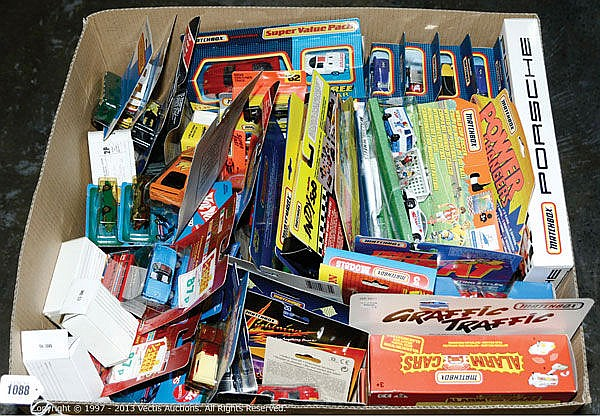 GRP inc Mattel, Hot Wheels, Matchbox boxed