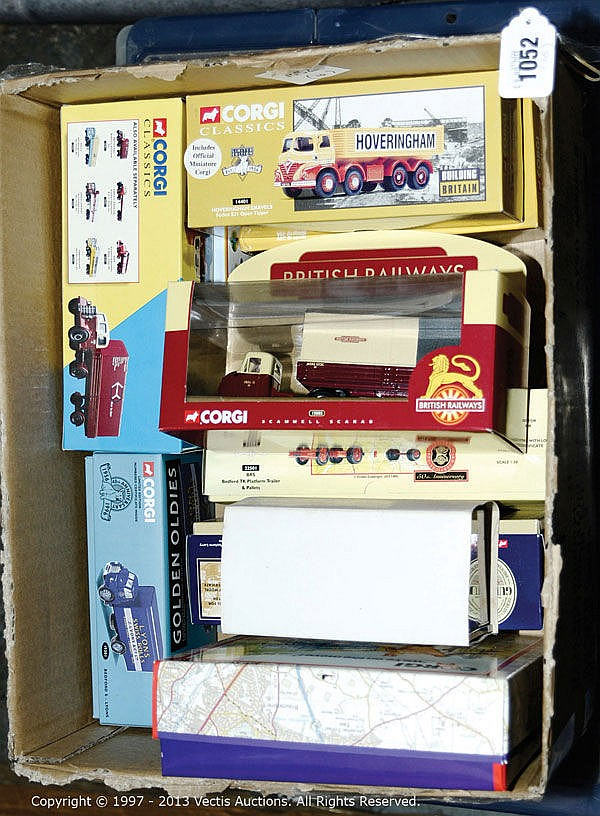 GRP inc Corgi boxed Commercials with 1 x Set