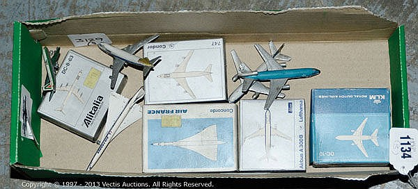 GRP inc Schuco small scale Aircraft Boeing 747