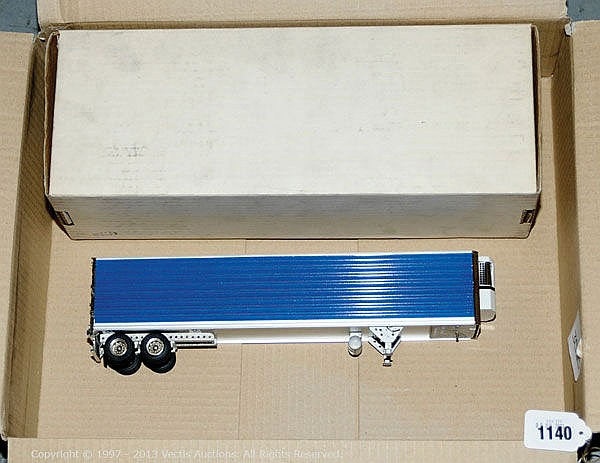 SMTS Refrigerated Trailer Unit with metallic