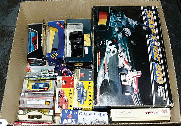GRP inc Corgi, Vanguards, Scalextric and similar