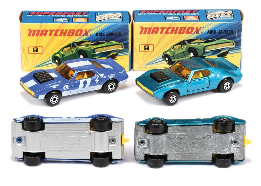 PAIR inc Matchbox Superfast 2 x 9b AMX Javelin