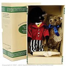 Steiff Dollyland Jolly Golly and Bear Set, 1996
