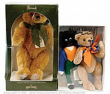 PAIR inc Merrythought Teddy Bears and Gollys