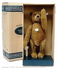 Steiff Teddy Bear replica 1906, blonde mohair