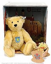 Steiff Giengen 1906 replica Teddy Bear Set