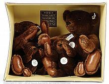 Steiff Margaret Woodbury Strong chocolate mohair