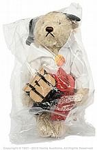Steiff Pirate Bear, white tag 655371, LE 1500
