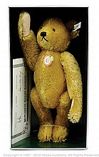 Steiff Petsy Brass 1927 replica Teddy Bear