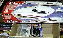 GRP inc Sun Star, Joyride, Racing Boat boxed
