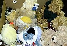 GRP inc Teddy Bears. Steiff No.111655, Harrods