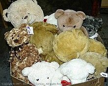 approx 70 Teddy Bears. All are unboxed