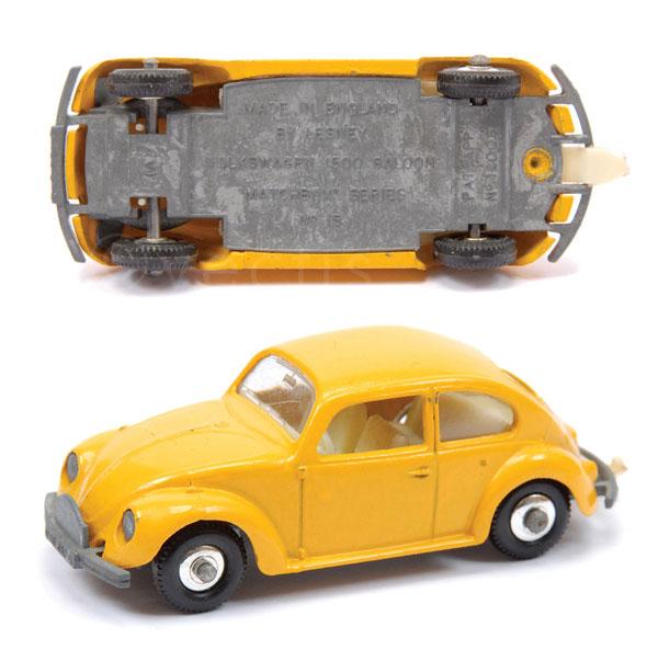 Volkswagen Stockton: Matchbox Regular Wheels No.15d VW Beetle Rally