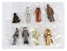 GRP inc Palitoy Kenner Star Wars eight x vintage