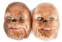 PAIR inc Star Wars Chewbaccvacuum formed plastic