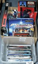 QTY inc Star Wars toys and books, includes Think