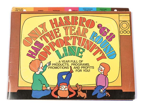 Hasbro ipo in 1968