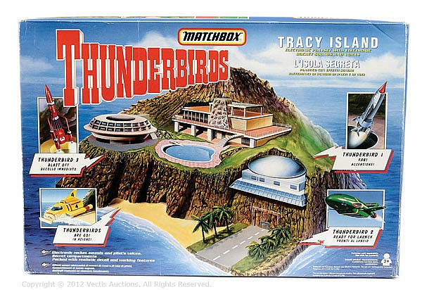 Matchbox Gerry Anderson's Thunderbirds Tracy Isl