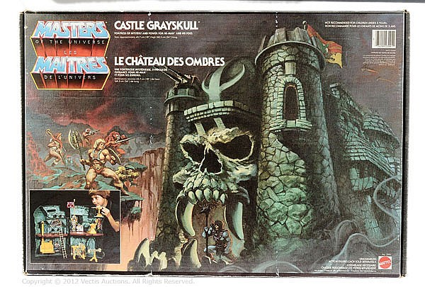 Mattel Masters of the Universe Castle Greyskull