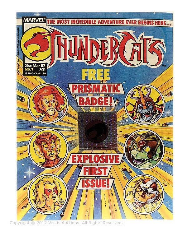 Marvel Comics Thundercats No.1 issue