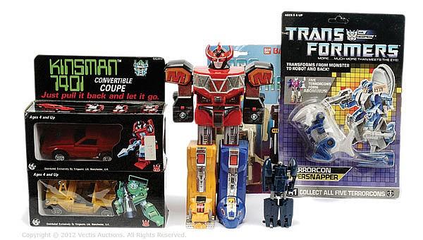 GRP Hasbro and Bandai Transformers toys