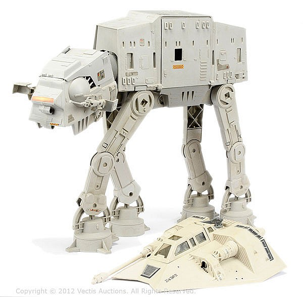 PAIR Palitoy/Kenner inc Star Wars AT-AT Vehicle