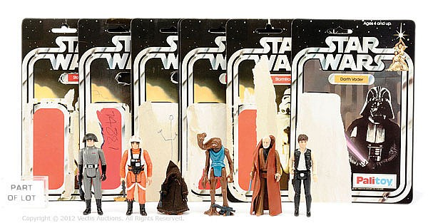 QTY Palitoy Star Wars 1st Issue vintage figures