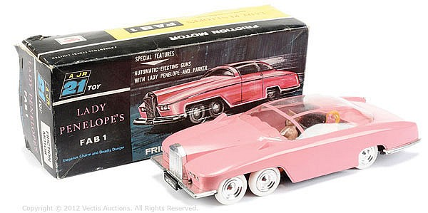 JR21 Toys Lady Penelope's FAB1, friction driven