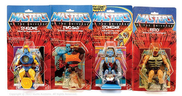 GRP Mattel Masters of the Universe figures