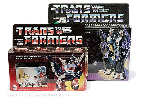 PAIR Hasbro Transformers Generation 1 Series 1