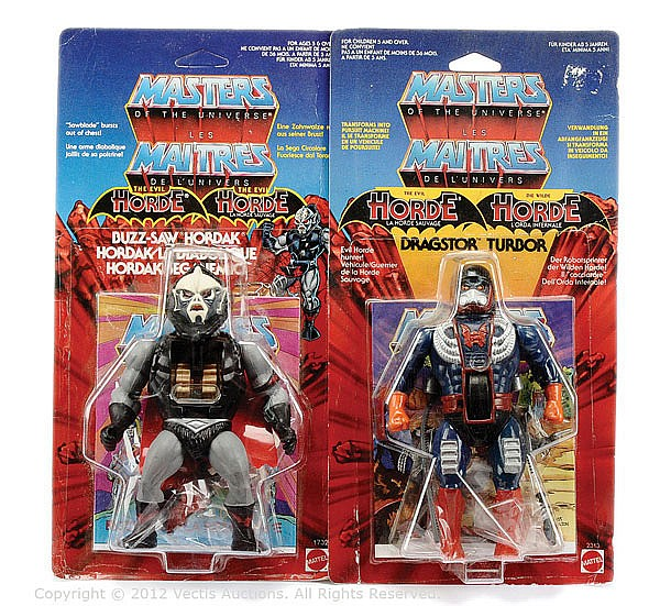 PAIR Mattel Masters of the Universe figures
