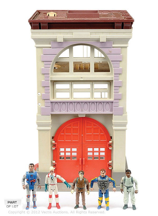 QTY Kenner Ghostbusters toys inc Fire House