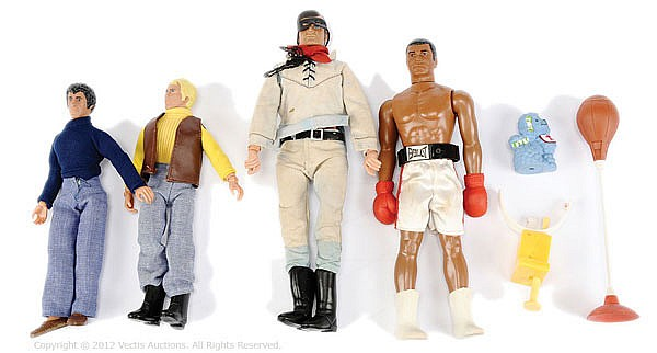 QTY toys inc Denys Fisher Muhammad Ali figure