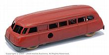Solido No.78 Autocar - dull red body, red seats
