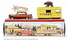 CIJ (Norev) No.8/00/00 Peugeot 404 with Caravan