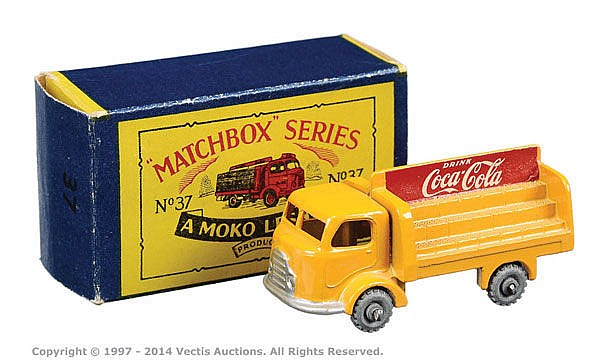 MATCHBOX TRANSFERS//DECALS Coca Cola 37a//b KARRIER TRUCK