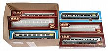 GRP inc Airfix OO Gauge boxed Blue/Grey Coach