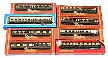 GRP inc Hornby OO Gauge boxed GWR Brown/Cream