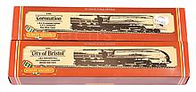 PAIR inc Hornby OO Gauge LMS Streamlined 4-6-2
