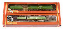 PAIR inc Hornby OO Gauge SR Green 4-6-2 Battle