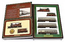 PAIR inc Hornby OO Gauge boxed Sets x 2. No.R763