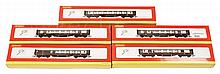 GRP inc Hornby OO Gauge Pullman Coaches x 5. To