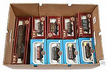 GRP inc Airfix OO Gauge boxed Wagons. 5 Plank