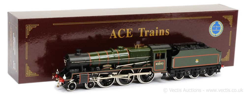 ACE O Gauge E/18 4-6-0 Loco and Tender BR lined