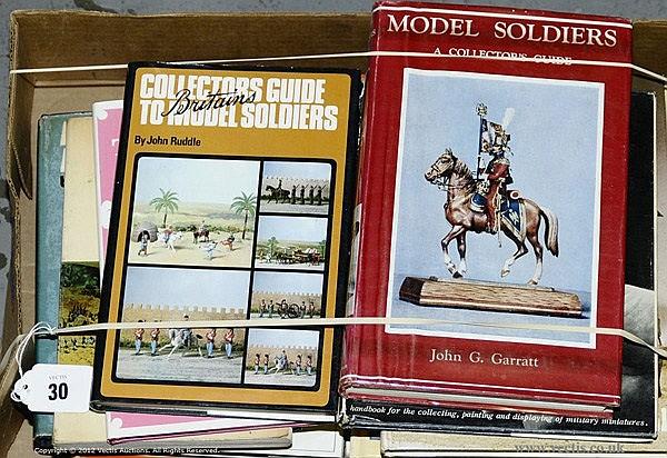QTY inc Books - Model Soldiers. Garratt, JG