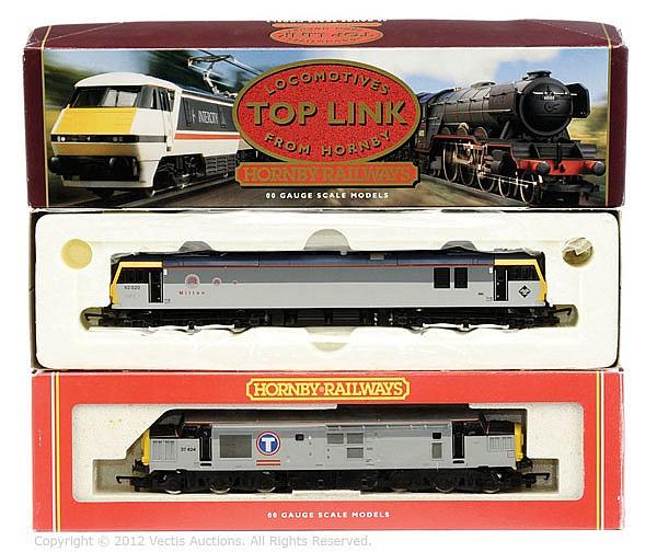 PAIR inc Hornby Railways OO Gauge 2 x locos