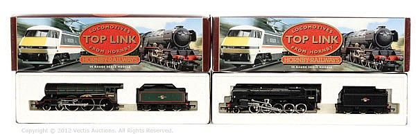 PAIR inc Hornby Railways Toplink 2 x Steam locos