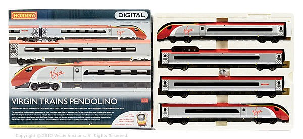 Hornby (China) OO Gauge, R2467X, Virgin Trains
